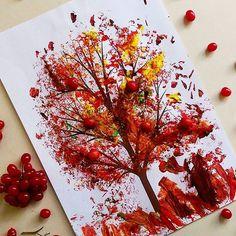 Вот как постарался мой маленький гномик😊Пузырчатая пленка творит чудеса🍁🍃🍂🍎 #fun4moms_вдохновляем#mamyvmeste#кирямба_рисует#чем_занять_ребенка#для_копилкаидей#узнай_осень #наша_волшебная_осень2016 #наша_волшебная_осень2016_3 #наша_волшебная_осень2016_kirusha