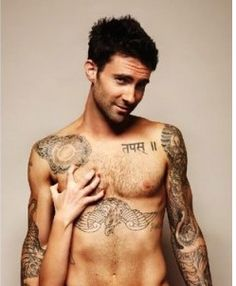 Maroon 5! ...and Adam Levine is the only guy in the world who i think looks good with tattoos. :)