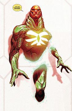 Future-Vision by Mike Del Mundo Comic Book Artists, Comic Book Characters, Marvel Characters, Comic Artist, Comic Character, Comic Books Art, Character Design, Character Costumes, Marvel Comics Art