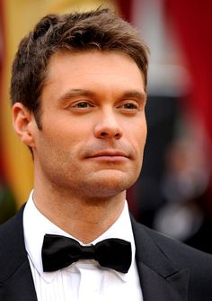 Lila's Ex - The Douche (No Offense Ryan Seacrest! Punch In The Face, Ryan Seacrest, Radio Personality, Black Tie Affair, Famous Stars, American Idol, Celebs, Celebrities, Good Looking Men