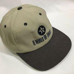 b743a9105df #texaco A World Of Energy Tan Black Baseball Cap Adjustable Strap NWOT Made  USA #