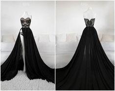 Desert Noir Gown l Ball Dresses, Ball Gowns, Evening Dresses, Prom Dresses, Formal Dresses, Pretty Outfits, Pretty Dresses, Beautiful Dresses, Dresses For Work