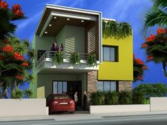 Superb 4 Front Designs For Small Houses Small House Elevation Front Design In India Archives