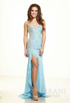 Terani Couture #Prom #Fashion