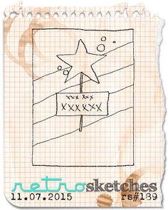retro sketches : a challenge: retrosketches #189...