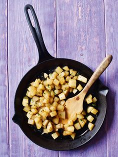 Caramelised turnips - We think turnips are underrated. Try this quick side dish and we promise you'll be converted. Find the recipe in our February 2017 issue.