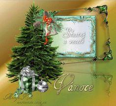 Veselé Vánoce Obrázky 2 Christmas Wreaths, Christmas Ornaments, Xmas Cards, Holiday Decor, Home Decor, Christmas E Cards, Christmas Cards, Decoration Home, Room Decor