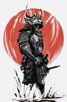 Samurai by Narandel.deviantart.com on @DeviantArt