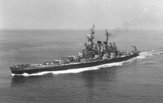 USS North Carolina (BB-55) off New York City, June 1946. [4000x2539]