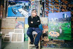 home - Michal Ramus Portrait, February, Polish, Painting, Artists, Inspiration, Enamel, Biblical Inspiration, Men Portrait