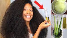 Black Hair Growth, Extreme Hair Growth, Hair Growth Oil, Natural Hair Twists, Natural Hair Updo, Natural Hair Styles, Long Hair Styles, Aloe For Hair, Hairdo For Long Hair