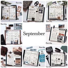 2016/10/17 10月も半ばですが、9月の日記をやっと全部書き上げたので9月のまとめ。いつもありがとうございます。9月はたくさんの方からのいいねとフォローをいただき、フォロワーさんの数が2,000人を超えました。とても嬉しいです。本当にありがとうございます。10月もどうぞよろしくお願いいたします。 Rumi ◡̈*❤︎ #travelersnotebook #travelersnote  #トラベラーズノート #rumisdiaryまとめ