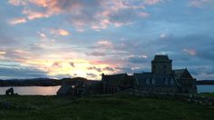 Sunrise over Iona.     photo byCarlie Burrett