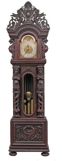 12. Victorian Grandfather Clocks