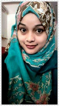 Nynha#green#hijab#