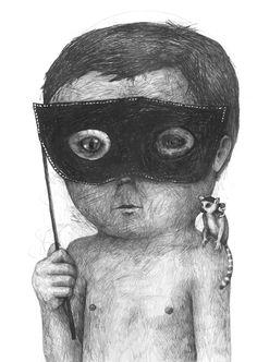 Your Daily Art: Stefan Zsaitsits is a little man of mystery
