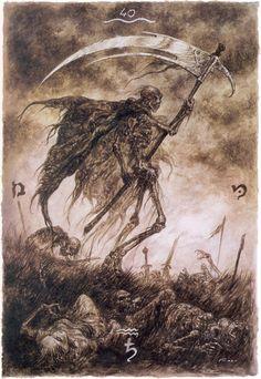 XIII- la muerte