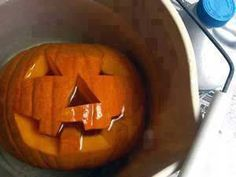 Keep your pumpkin fresh longer: after you scoop out & carve your pumpkin, dip it in a large container of bleach & water (1 tsp bleach in 1 gal water). The bleach will kill bacteria. Once completely dry, (drain upside down), add 2 tbsp vinegar & 1 tsp lemon juice to a quart of water. Brush this solution onto your pumpkin to keep it looking fresh for weeks.