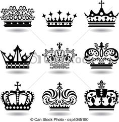 Vector - Crown - stock illustration, royalty free illustrations, stock clip art icon, stock clipart icons, logo, line art, EPS picture, pictures, graphic, graphics, drawing, drawings, vector image, artwork, EPS vector art