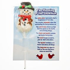 The Meaning Of The Snowman Suckers
