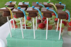 High School Graduation Party Ideas Pinterest | And, the desserts were the best part...!