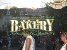 Bakery Sign, Disney World.