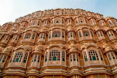 The fort was build by Maharaja Sawai Pratap Singh in 1799. It is a most recognizable and popular monument of Jaipur. It is a 5 storied beautiful monument having near about 152 windows over hanging balconies depicting fine piece of Rajput architecture and that's the reason why it was named as Hawa Mahal.