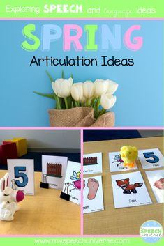 Spring is such a fun time of year and a great theme for speech therapy! These spring articulation ideas will help you plan some fun activities for your students working on their speech skills.