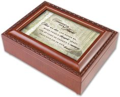 Cottage Garden Traditional Forever In Our Hearts Music Box