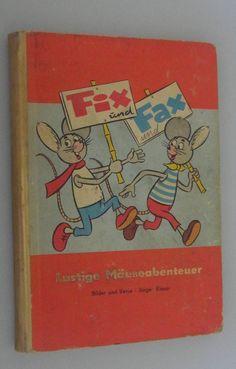 Fix und Fax°°Lustige Mäuseabenteuer/Jürgen Kieser/Verlag Junge Welt /Rotes Buch   eBay