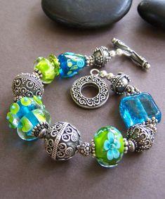 Marina bolas de cristal de Murano con por StoneStreetStudio