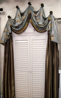Dream Interiors has its own drapery workroom, and can make custom window treatments exactly to your specifications!