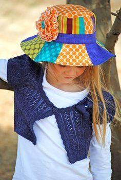 Summer Daze Sun Hat Pattern