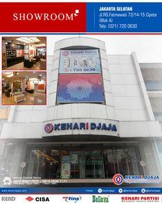 Sahabat KENARI DJAJA yang Berada di JAKARTA SELATAN, Anda Sedang Mencari Perlengkapan Pintu dan Jendela ? ... Kunjungi Showroom Kami Segera ...  Kami Ada Di : Jl. RS. Fatmawati 72/14-15, Cipete (Blok A) Telp : (021) 720 0630, Fax : (021) 724 3741 Jakarta Selatan  Informasi Hub. : Ibu Tika 0812 8567 7070 ( WA / Telpon / SMS ) 0819 0506 7171 ( Telpon / SMS )  Email : digitalmarketing@kenaridjaja.co.id  [ K E N A R I D J A J A ] PELOPOR PERLENGKAPAN PINTU DAN JENDELA SEJAK TAHUN 1965