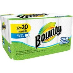 Bounty Select-a-Size Paper Towel - 70 Sheets per Roll / 8 Rolls per Carton Paper Towel Rolls, Paper Towel Holder, Towel Holders, Bounty Paper Towels, Cheap Mattress, Affordable Mattress, Latex Mattress, Air Mattress, How To Roll Towels
