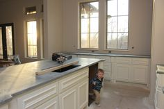 our new soapstone countertops