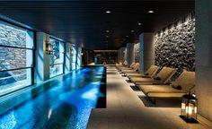 Ritz-Carlton, Kyoto, Japan Best Urban Hotels the shortlist Luxury Swimming Pools, Luxury Pools, Dream Pools, Luxury Spa, Swimming Pool Designs, Indoor Pools, Spa Design, Pool Spa, Travel Wallpaper