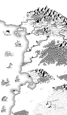 fantasy terrain map symbol - Google Search