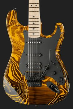 Fender Stratocaster Yellow Swirl FSR - Thomann Greece