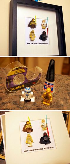 Star Wars Lego Art | DIY Fathers Day Gift Ideas from Daughter | DIY Birthday Gifts for Boyfriend