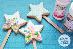 Ahora, también mamá: Abracadabra ¡puf! Varitas mágicas de galleta