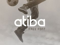 Atiba is an experimental font that aims to combine perfect geometric curves with solid straight lines to create a sportive, energetic and timeless look. It is free for both personal and commercial...