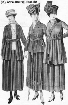 Fashion Pictures 1917