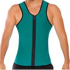 BEST Men Ultra Sweat Thermal Muscle Shirt hot shapers Neoprene slimming body shaper belly waist and abdomen Belt Shapewear Tops Vest