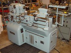Monarch tool room lathe. These were magnificent machines!  Home Machine Shop | Home Workshop Hall of Fame