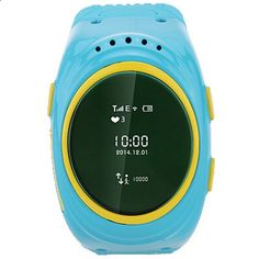 (44.10$) Watch more here - aifdj.worlditems.... - Smart phone watch intercom GPS positioning LED children students listening exercise in support of Android IOS bracelet and elect