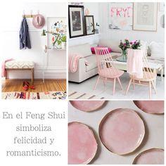 El rosa está de moda en decoración y te mostramos cómo influye en la energía de nuestro hogar.