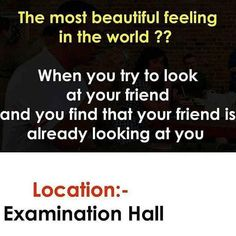 """If you want to get high score in exams you have to stay focus and attention of these """"Top Funny Minion Exam Quotes – Famous Funny Hilarious Memes and Pictures"""". Exams Funny, Funny School Jokes, Very Funny Jokes, Really Funny Memes, Funny Facts, Funny College, Hilarious Memes, Funny Videos, Best Friend Quotes Funny"""