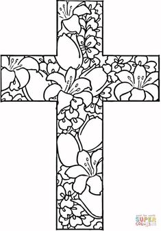 printing coloring pages free printable coloring book pages free coloring books colouring pages free pictures to Cross Coloring Page, Easter Coloring Pages, Bible Coloring Pages, Free Printable Coloring Pages, Coloring Pages For Kids, Coloring Sheets, Coloring Books, Kids Coloring, Colouring In