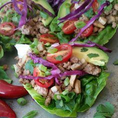 Spicy Asian Style Lettuce Wraps http://cleanfoodcrush.com/lettuce-wraps/